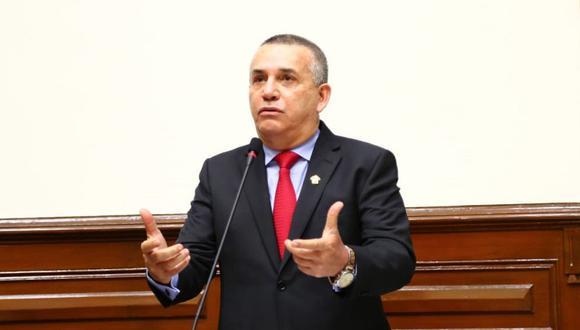 Las palabras de Daniel Urresti sobre Martín Vizcarra generaron rechazo en redes sociales.. (Foto: Congreso)