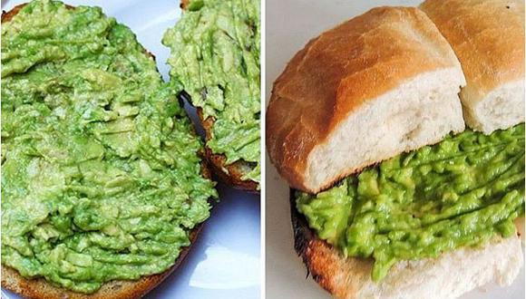 El pan con palta sería una alimento adictivo