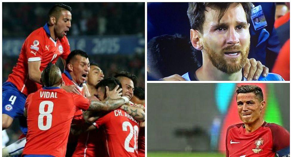 Lionel Messi y Cristiano Ronaldo: Chile, la pesadilla de los mejores del mundo