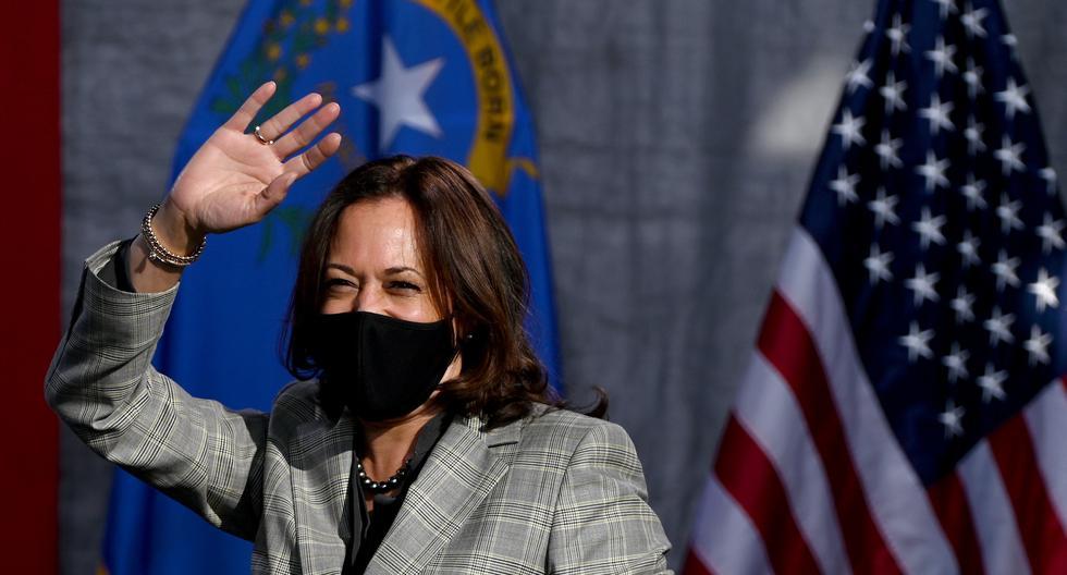 Kamala Harris es la primera mujer afroamericana y de origen asiático que es candidata a la vicepresidencia de EE.UU. (AFP)-