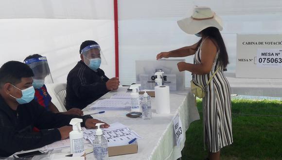 Un grupo de 62,829 personas habilitadas para participar en las elecciones presidenciales y congresales en Tacna no acudió a los centros de votación. (Foto: Adrian Apaza)