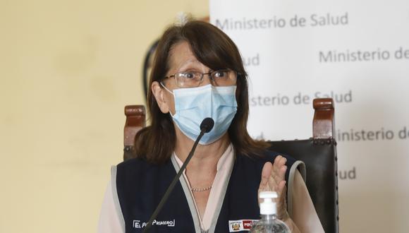 La actual ministra de Salud, Pilar Mazzetti, declaró esta noche que sería apropiado reducir el aforo de los restaurantes.