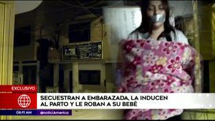 Secuestran a mujer embarazada y la inducen al parto para robarle al bebé