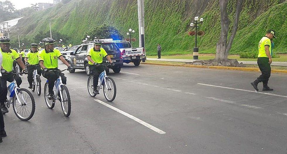 Chorrillos: Refuerzan patrullaje integrado para reducir delincuencia (FOTOS)