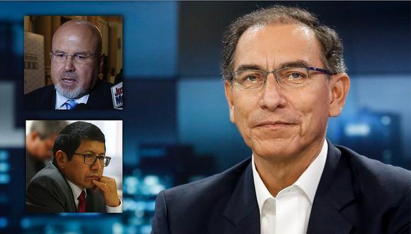 """Martín Vizcarra sobre renuncia de Carlos Bruce y Edmer Trujillo: """"Es parte de la coyuntura"""""""