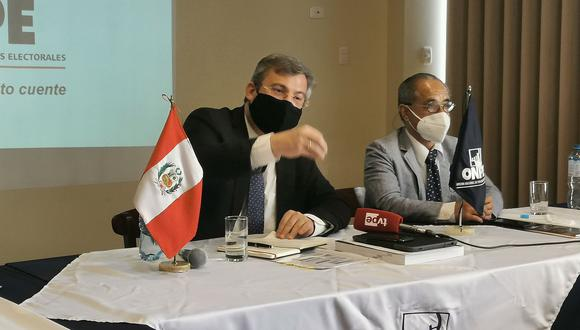 Peruanos podrán elegir hasta tres centros para emitir su voto
