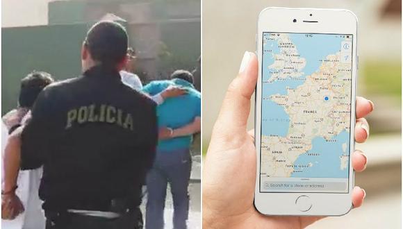Sujetos roban casa y Policía los captura por el gps de un celular que se llevaron (VIDEO)