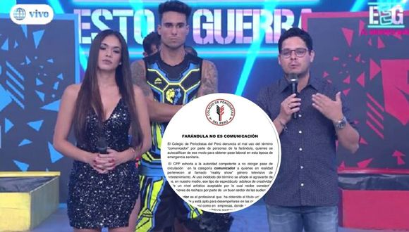 Colegio de Periodistas pide no otorgar pase laboral a quienes son parte de 'reality show'. (Foto: América TV / Facebook)