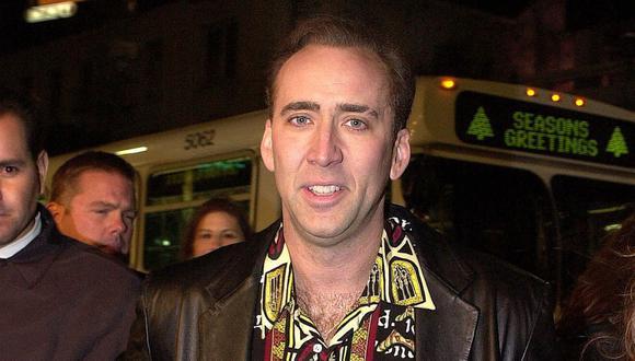 Nicolas Cage se casó con Riko Shibata. (Foto: Lucy Nicholson/AFP)