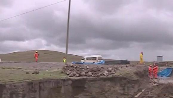 Revelan irregularidades en la concesión de carretera Checca-Mazocruz en Puno