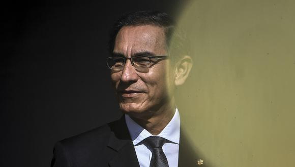 Martín Vizcarra vuelve a estar en la mira del Ministerio Público. (Foto: Patricia de Melo Moreira/ AFP)