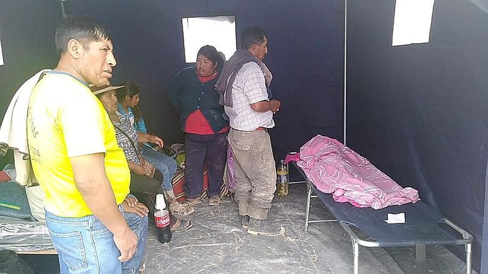 Entierran restos de niño arrastrado por huaico en Mirave