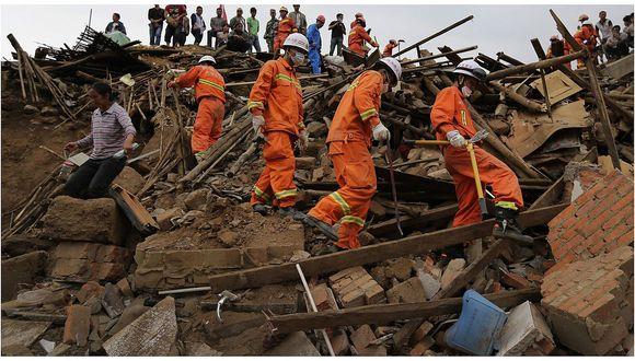 Terremoto de 5,4 grados deja ocho muertos en el noroeste de China