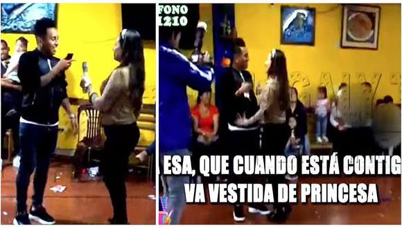 """Pamela López sorprende al cantarle a Christian Cueva el tema """"A esa"""" de Pimpinela (VIDEO)"""