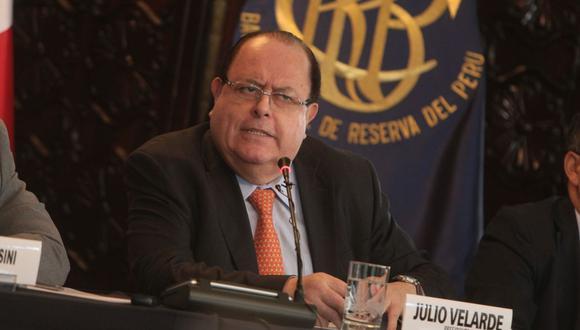 Es oficial: Julio Velarde se queda al frente del BCR. (Foto: Yodashira Perez | GEC)
