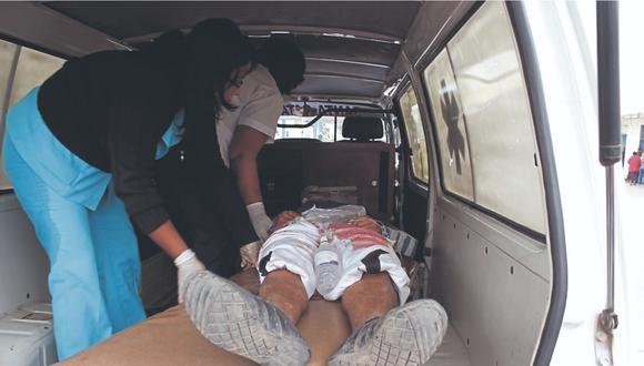Embarazada fue herida en atraco a microbús, mientras que vendedor de pollos recibió un tiro en otro asalto en Alto Trujillo.