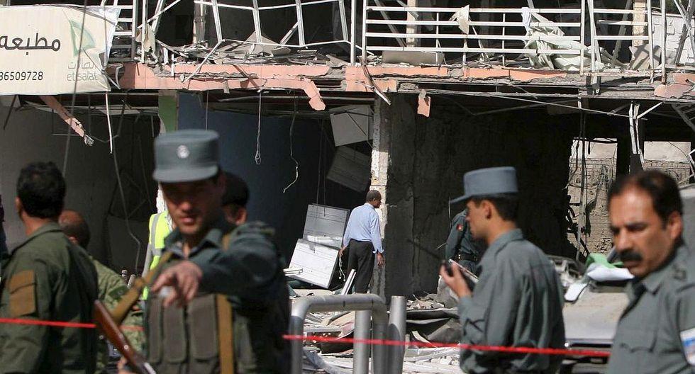 Afganistán: Cuatro estadounidenses muertos en ataque talibán