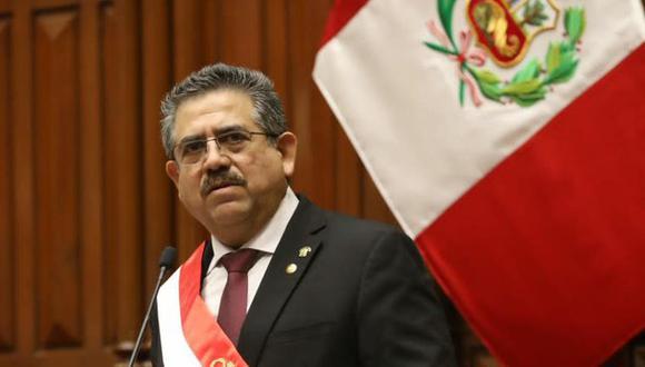 Manuel Merino rompió su silencio.