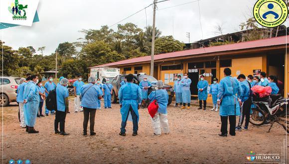 Directivos y trabajadores de la Red muy preocupados/fotos: Red de Salud