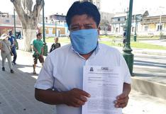 Archivan pedido de suspensión a regidor Fidel Belisario Quispe