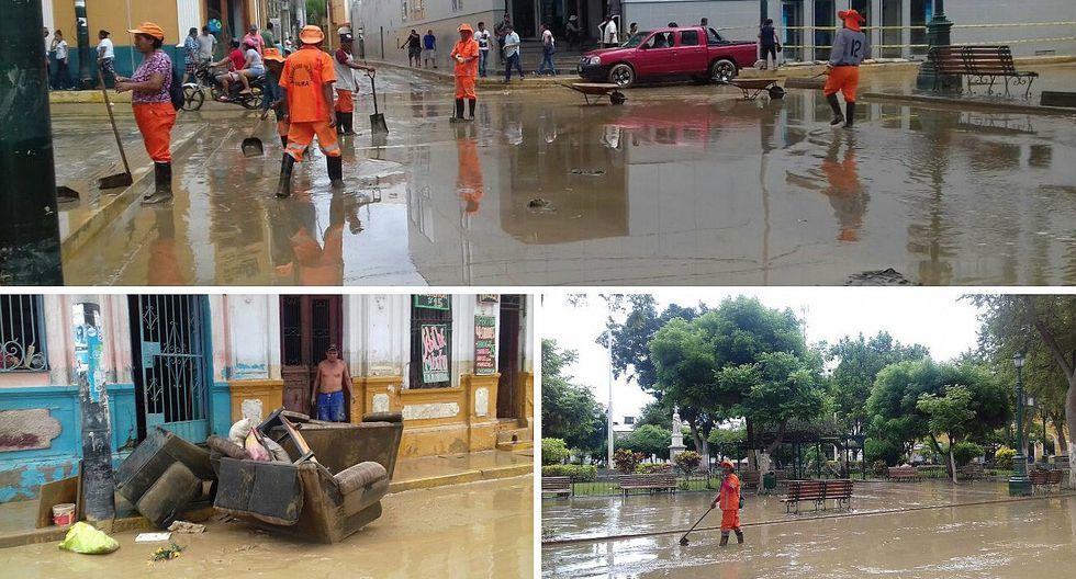 Distritos de Castilla y Piura quedaron totalmente inundados (FOTOS Y VIDEO)
