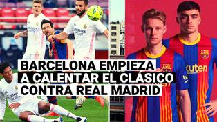 Barcelona inició la disputa del clásico con Real Madrid mediante un mensaje en redes sociales