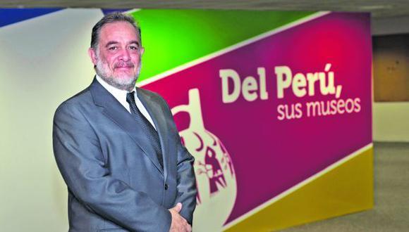 Carlos Del Águila Chávez, director general de Museos del Ministerio de Cultura