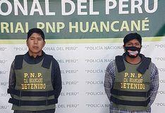 Abigeos pretendían vender toros robados en Huancané