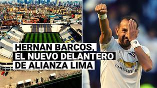 Alianza Lima anunció el fichaje de Hernán Barcos, experimentado delantero argentino