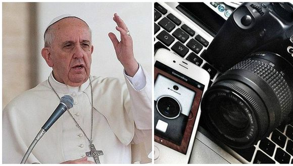 Papa Francisco pide a periodistas contar historias positivas y no solo escándalos (VIDEO)