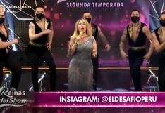 """""""Reinas del Show"""": Gisela Valcárcel inició el reality con problemas técnicos (VIDEO)"""