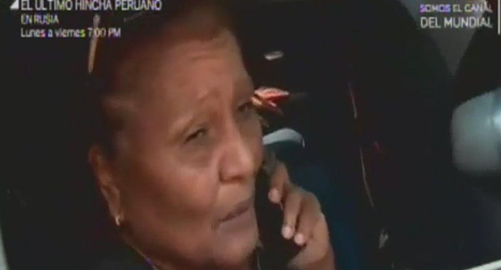 "Doña 'Peta': ""Ayer me desesperé y hablé mucho"" (VIDEO)"