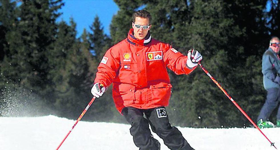 Casco de Michael Schumacher grabó imágenes del accidente