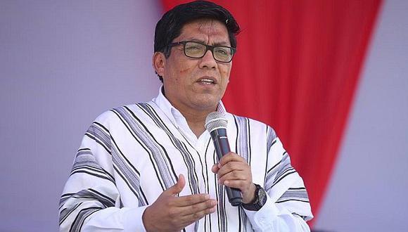 Zeballos consideró que ministro Trujillo debe pronunciarse sobre denuncia de irregular pago