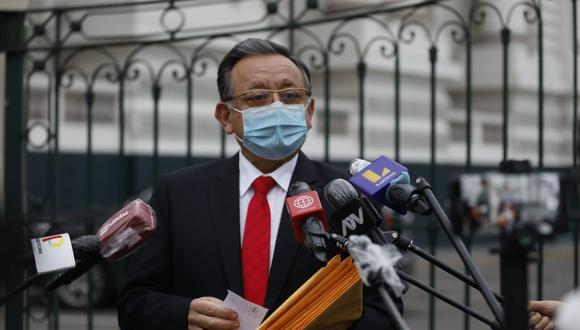 La fiscal de la Nación, Zoraida Ávalos, presentó dos denuncias constitucionales contra Edgar Alarcón (UPP). (Foto: César Bueno / GEC)