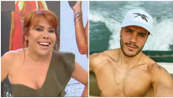 Magaly Medina se burla de Mario Irivarren tras 'ampay' de Ivana Yturbe. (Foto: ATV/Instagram)