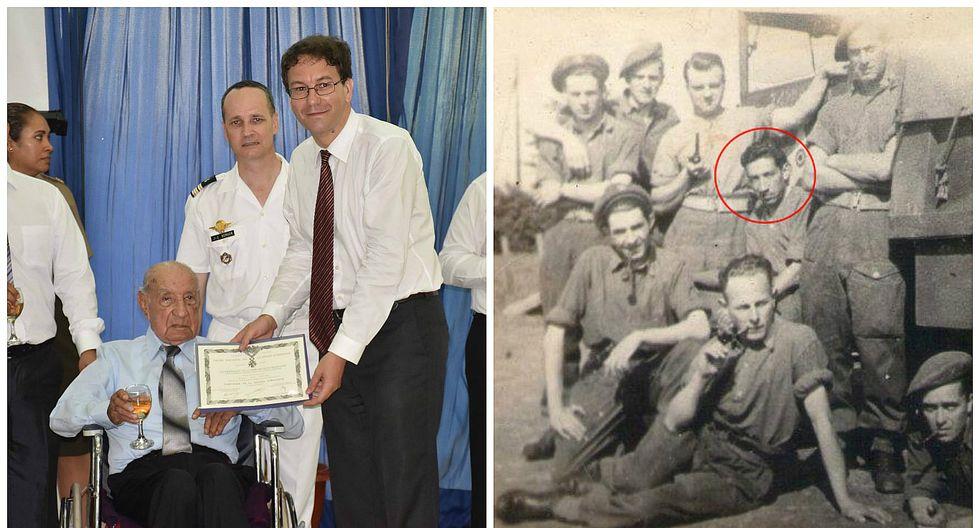 Militar peruano que luchó en la II Guerra Mundial fue condecorado por Francia (FOTOS y VIDEOS)