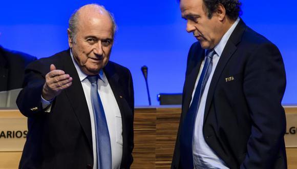 Brasil 2014: Platini anuncia que no apoyará a Blatter