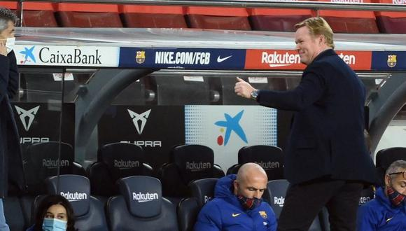 Ronal Koeman pone en evidencia a Riqui Puig (Foto: AFP)