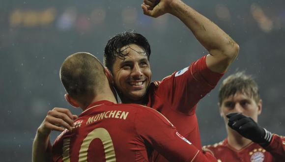 Video: Mira los cuatro goles de Claudio Pizarro en la goleada 9-2 al Hamburgo