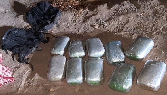 Agentes llevaban la sustancia ilícita en mochilas en un vehículo rumbo a Lima. (Foto: Referencial)