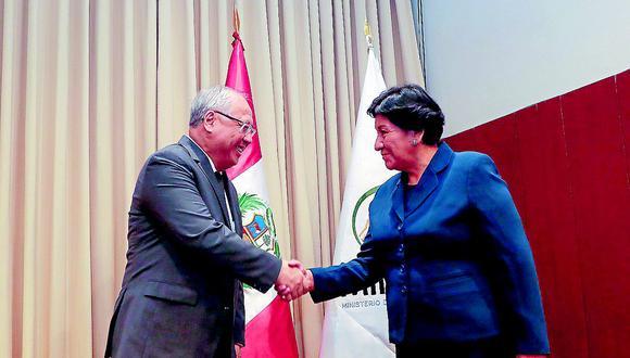 Puneña Susana Vilca asume Ministerio de Energía y minas