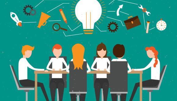Incorporar metodologías ágiles en las organizaciones es importantes para desarrollar objetivos creativos. (Foto: Vexels)