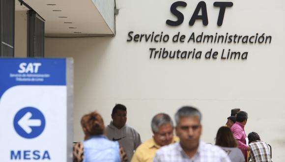 A fin de evitar que los ciudadanos salgan de sus viviendas para cumplir con sus obligaciones, el SAT de Lima ofrece un descuento adicional del 5% a quienes paguen a través de Internet, bancos y agentes bancarios. (Foto: GEC)