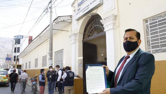 Carlos Segovia tuvo problemas en otras regiones/ Foto: Correo