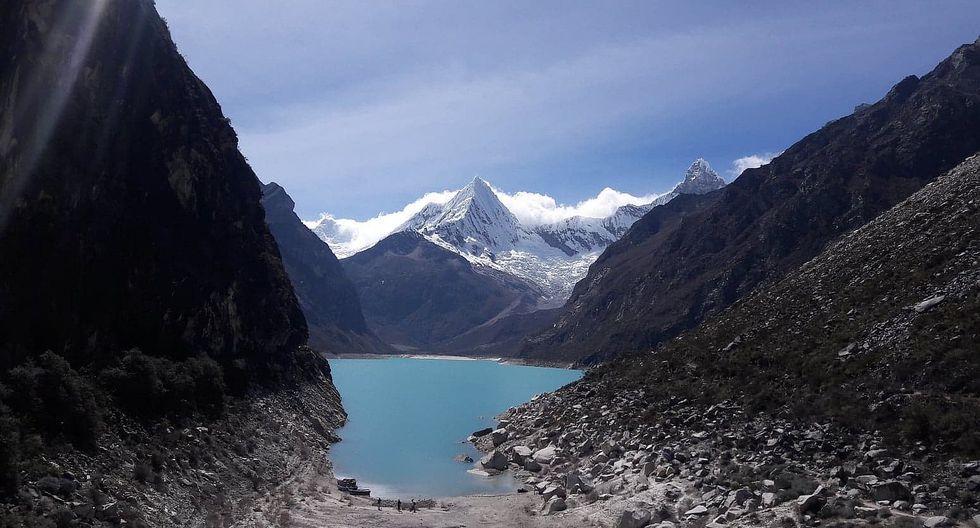Laguna Parón en riesgo de desbordarse y afectar a 20 mil pobladores de Caraz
