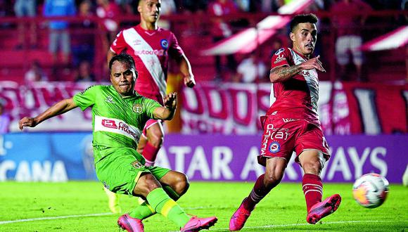 Con hombría, Sport  Huancayo, empata  con Argentinos  y se lleva punto de oro