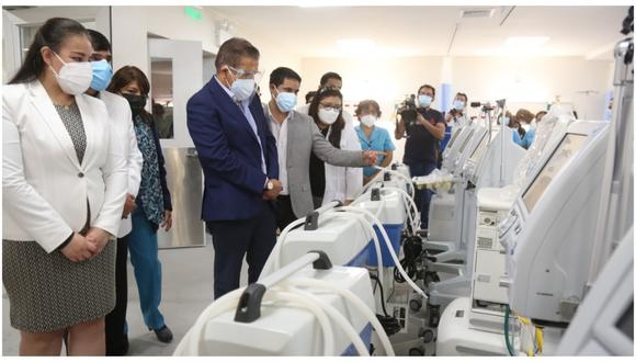 Gobierno Regional de La Libertad invirtió más de 5 millones de soles en la remodelación de este ambiente que está a disposición de los pacientes no COVID.