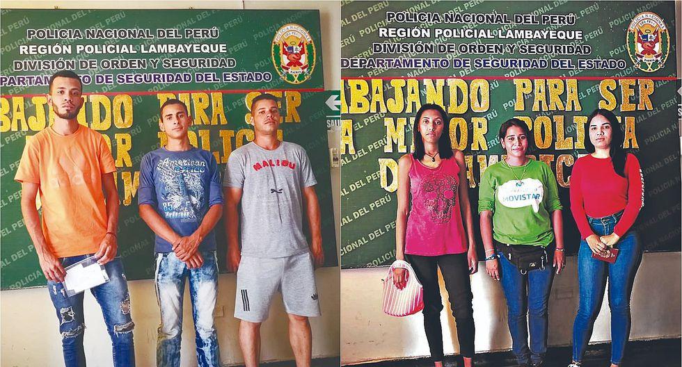 Intervienen a venezolanos que laboran de ambulantes en avenidas de Chiclayo