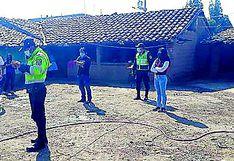 Músicos y danzantes imprudentes caen celebrando santiago  en Huancayo